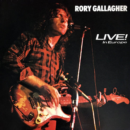 Rory Gallagher Live! In Europe - vinyl LP