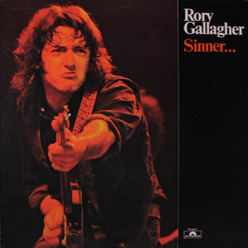 Rory Gallagher Sinner - vinyl LP