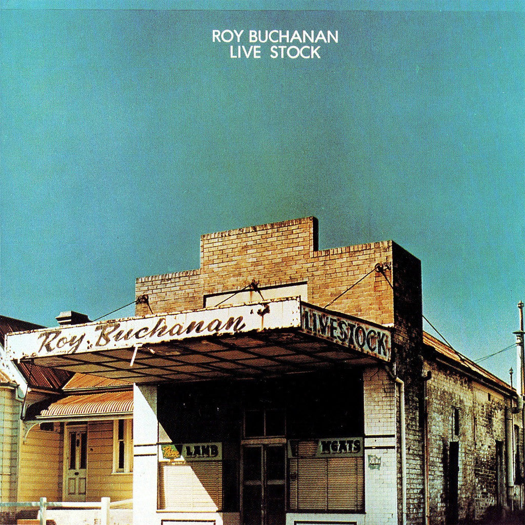 Roy Buchanan Live Stock - vinyl LP