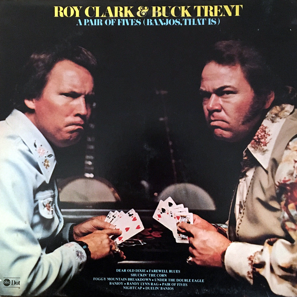 Roy Clark & Buck Trent A Pair of Fives - vinyl LP