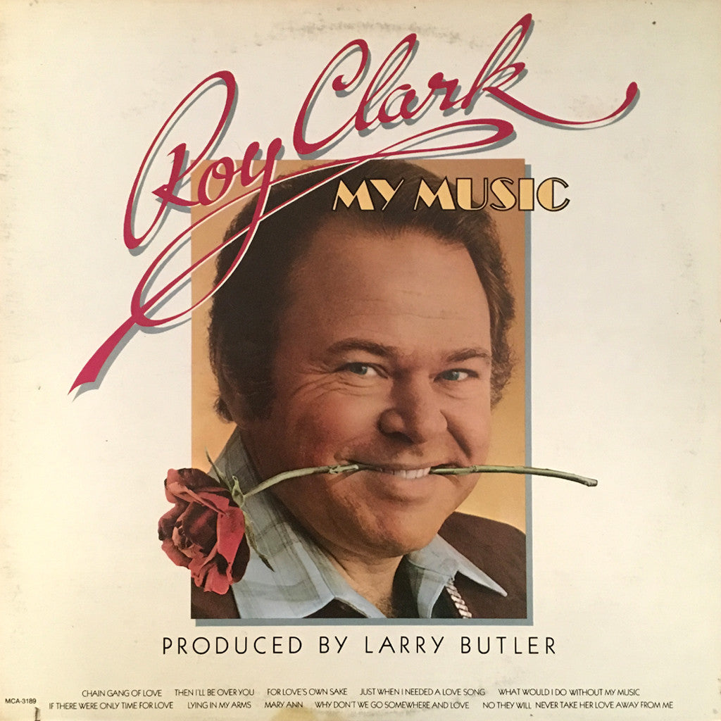 Roy Clark My Music - vinyl LP