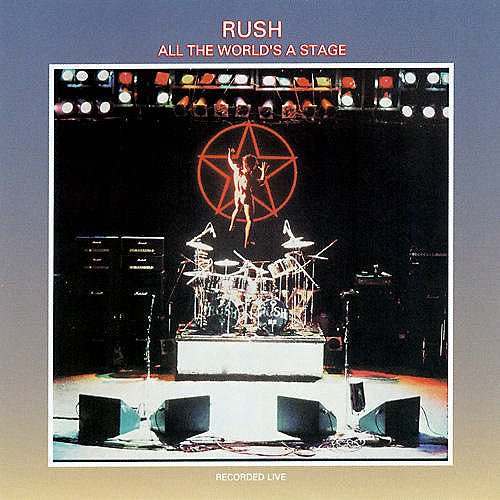 Rush All The World's A Stage - vinyl LP