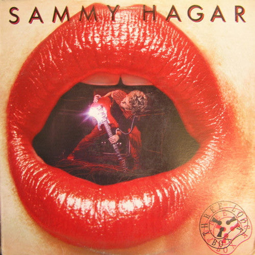 Sammy Hagar Three Lock Box - vinyl LP