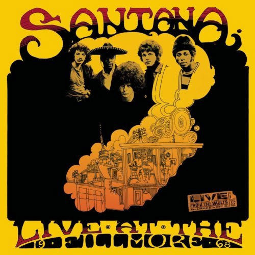 Santana Live at The Fillmore '68 - compact disc
