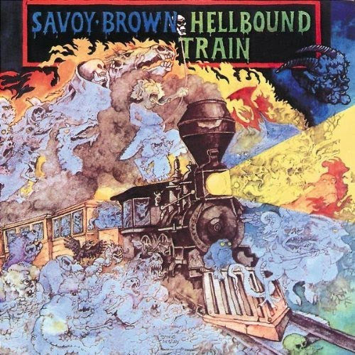 Savoy Brown Hellbound Train - vinyl LP