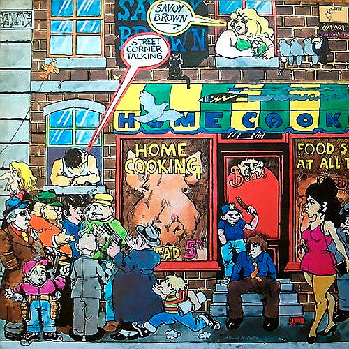 Savoy Brown Street Corner Talking - vinyl LP