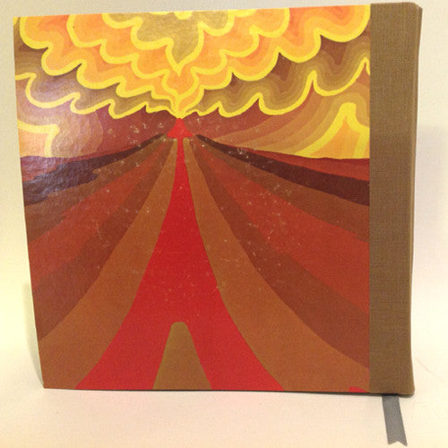 Vintage Vinyl Journal Savoy Brown Raw Sienna