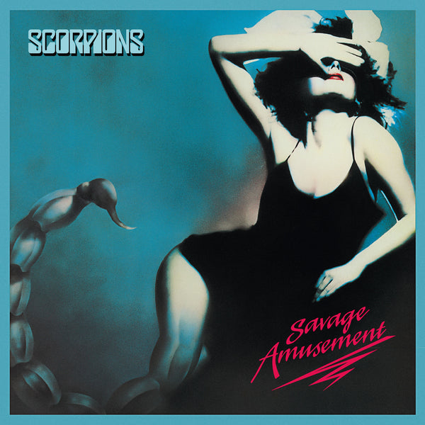 Scorpions Savage Amusement - cassette