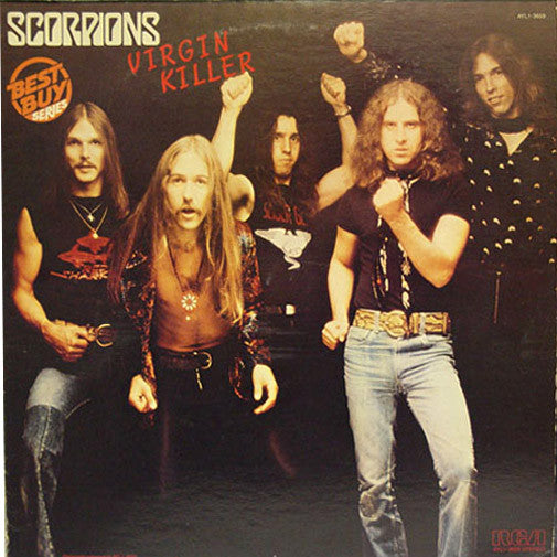 Scorpions Virgin Killer - vinyl LP