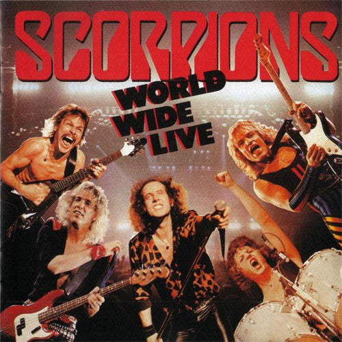 Scorpions World Wide Live - vinyl LP