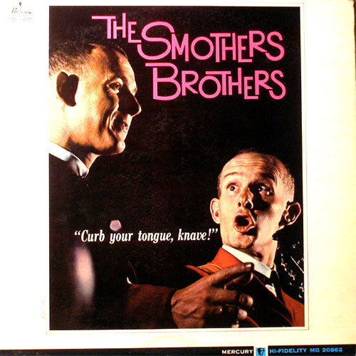 Smothers Brothers Curb Your Tongue Knave - vinyl LP