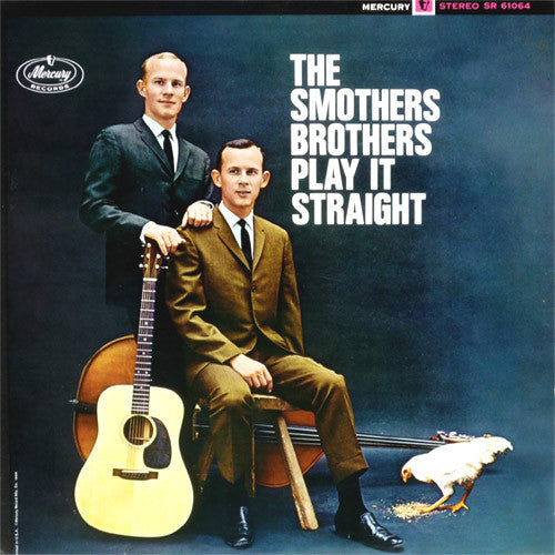 Smothers Brothers Play It Straight - vinyl LP
