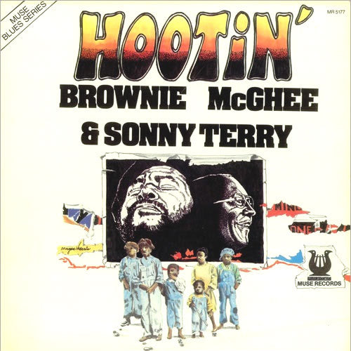 Sonny Terry & Brownie McGhee Hootin - vinyl LP