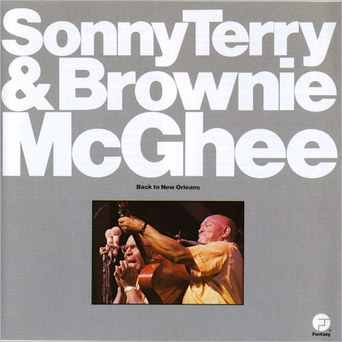 Sonny Terry & Brownie McGhee Back To New Orleans - vinyl LP