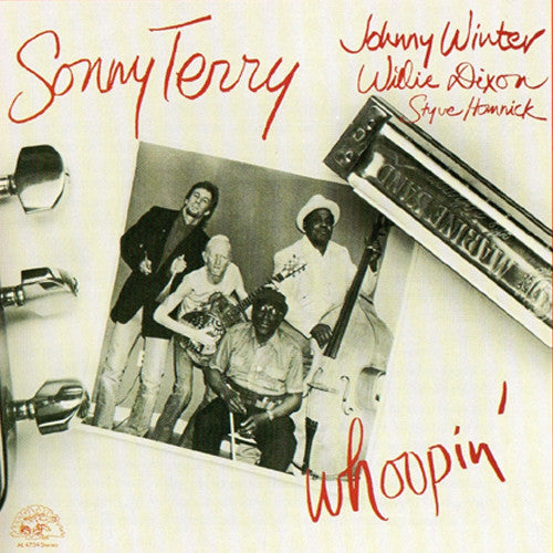 Sonny Terry, Johnny Winter, Willie Dixon Whoopin' - vinyl LP