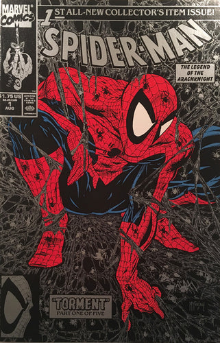 Spider Man #1 Silver Edition - comic book