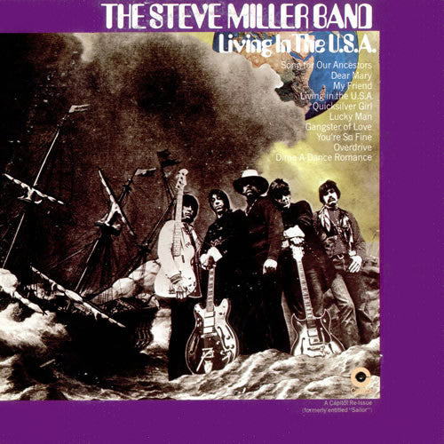 Steve Miller Band Living In The USA - vinyl LP