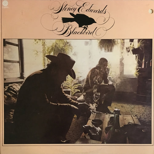 Stoney Edwards Blackbird - vinyl LP