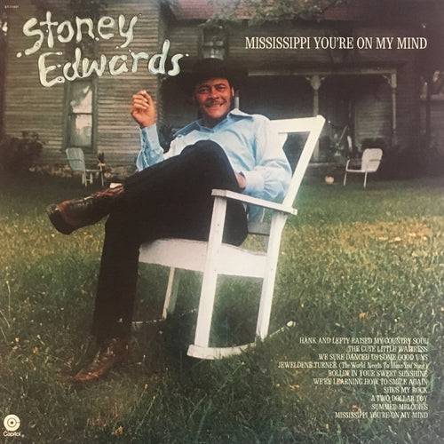 Stoney Edwards Mississippi You're On My Mind - vinyl LP