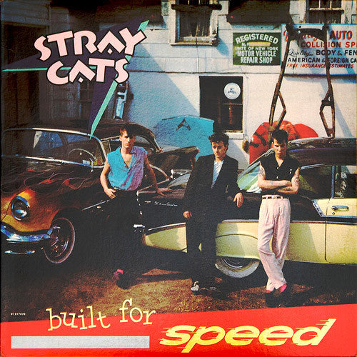 Stray Cats Built For Speed - vinyl LP