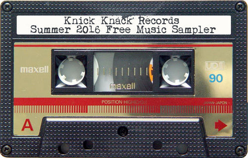 Knick Knack Records Summer 2016 Sampler