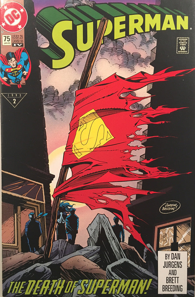 Superman #75 The Death of Superman - comic book