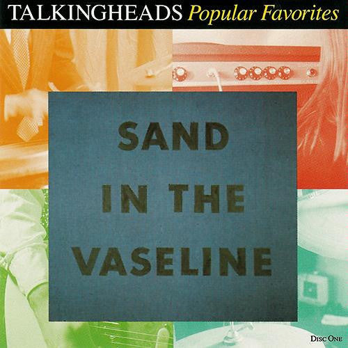 Talking Heads Sand In The Vaseline - compact disc