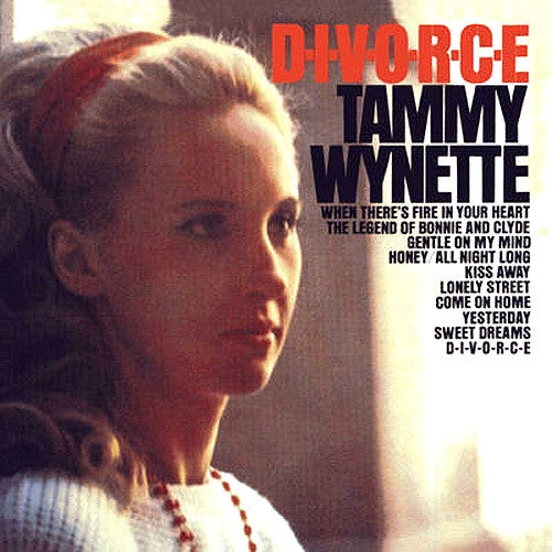 Tammy Wynette Divorce - vinyl LP