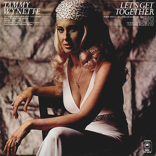 Tammy Wynette Let's Get Together - vinyl LP