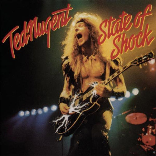 Ted Nugent State of Shock - vinyl LP