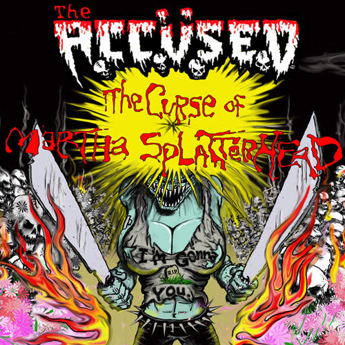 The Accused The Curse Of Martha Splatterhead - vinyl LP