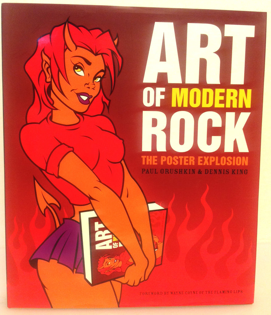 The Art of Modern Rock hardcover book
