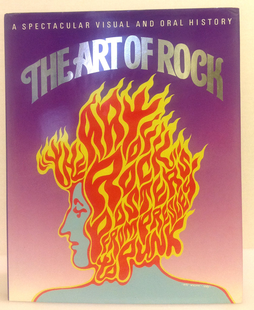 The Art of Rock hardcover book