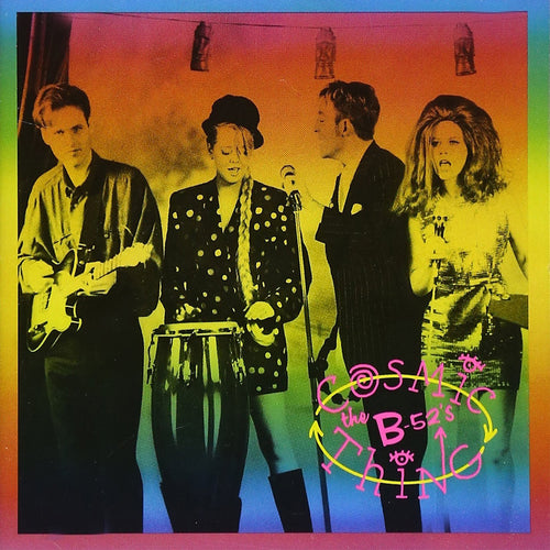 The B-52's Cosmic Thing - cassette