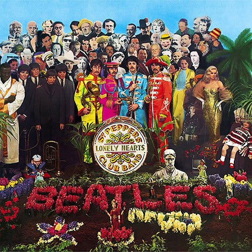 The Beatles Sgt. Pepper's Lonely Hearts Club Band - vinyl LP