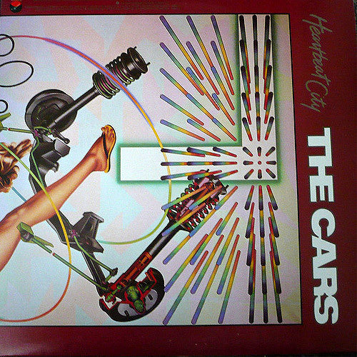 The Cars Heartbeat City - vinyl LP