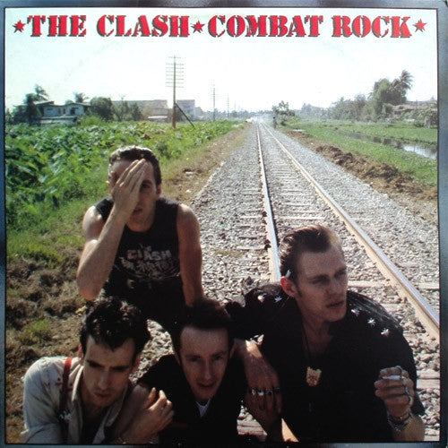 The Clash Combat Rock - cassette