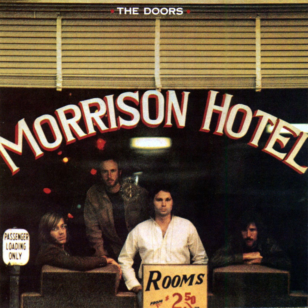 The Doors Morrison Hotel - vinyl LP