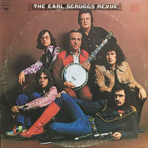 The Earl Scruggs Revue - vinyl LP