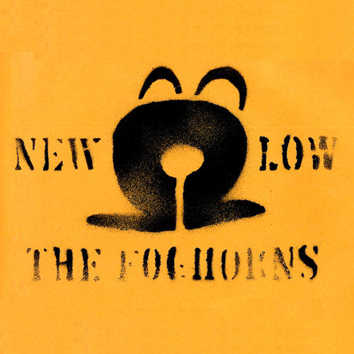 The Foghorns New Low - compact disc