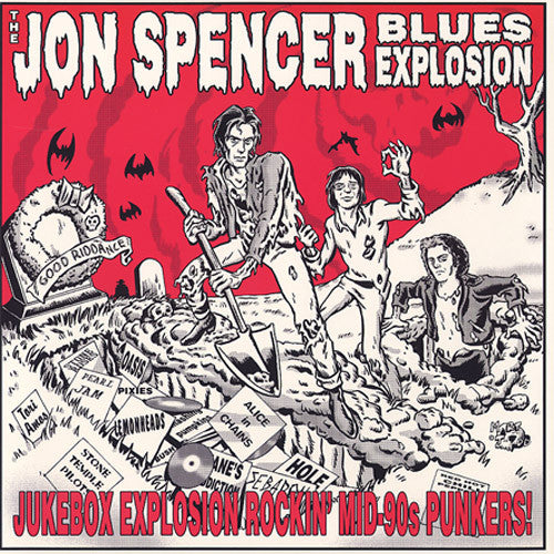 The Jon Spencer Blues Explosion Jukebox Explosion Rockin' Mid-90s Punkers - vinyl LP