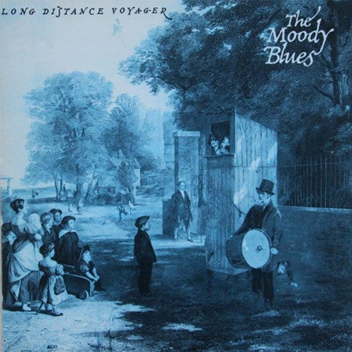 The Moody Blues Long Distance Voyager - vinyl LP