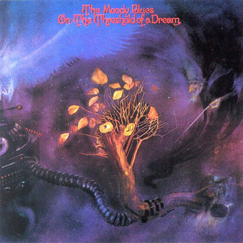 The Moody Blues On The Threshold Of A Dream - vinyl LP