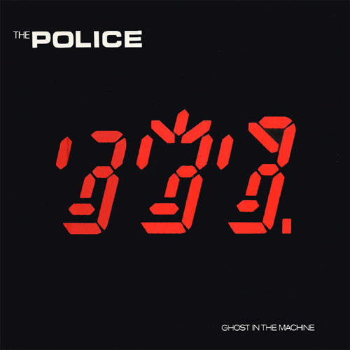 The Police Ghost In The Machine - vinyl LP