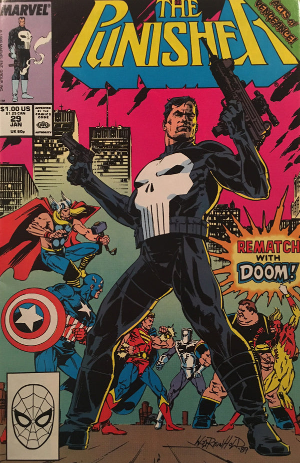 The Punisher #29 - comic book
