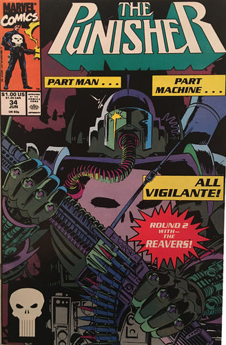 The Punisher #34 - comic book