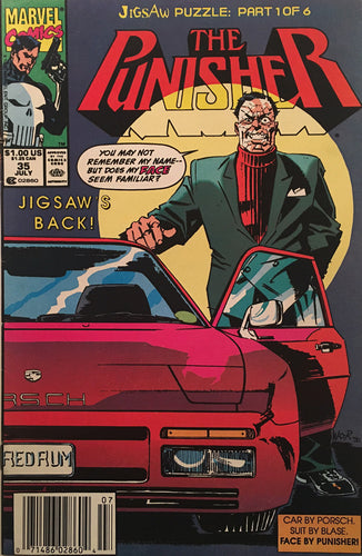 The Punisher #35 - comic book
