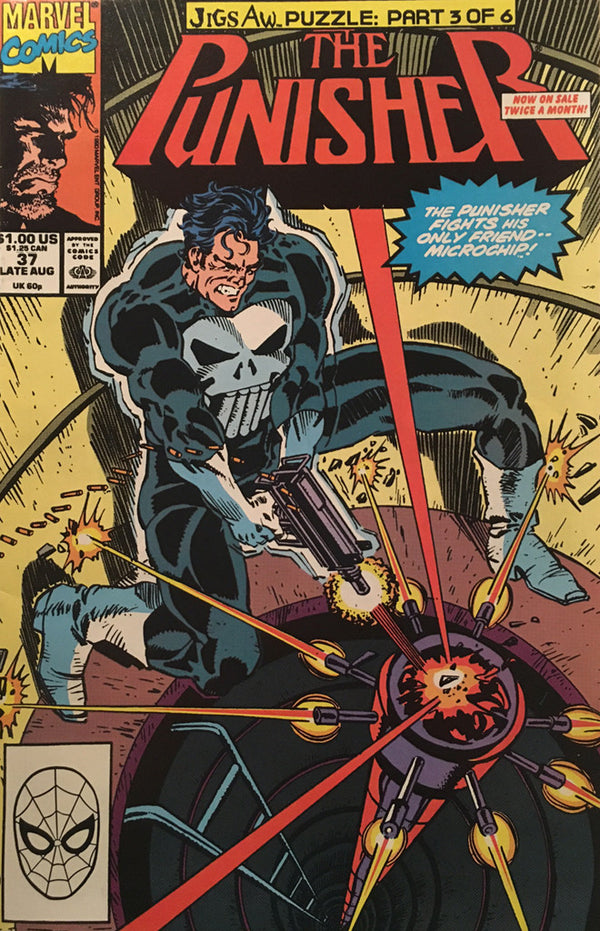 The Punisher #37 - comic book