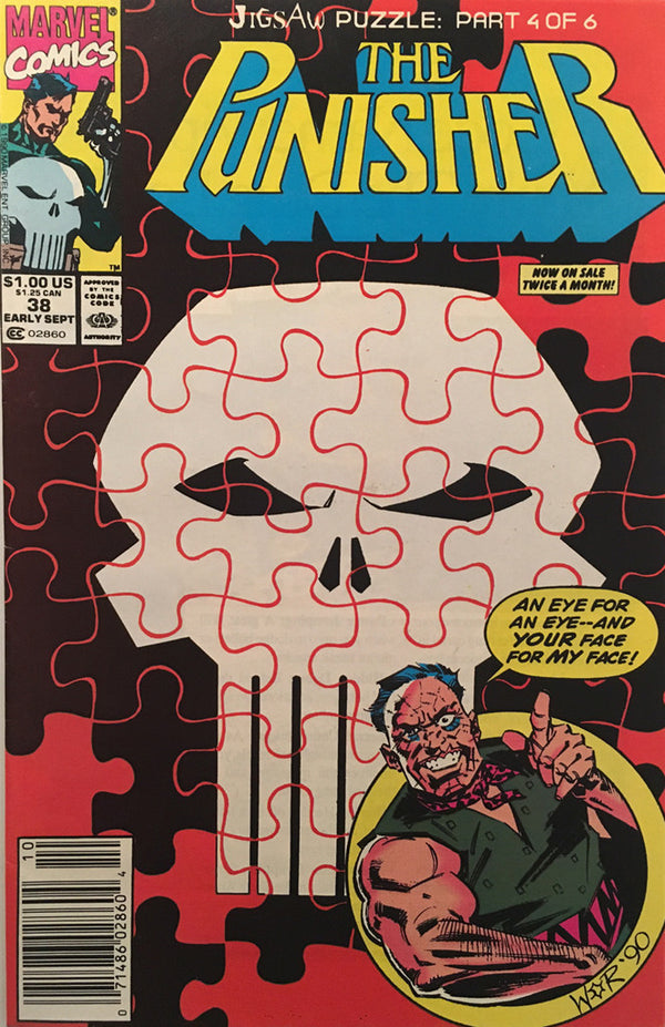 The Punisher #38 - comic book
