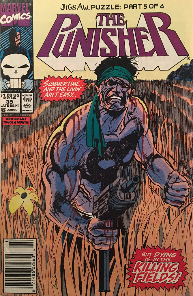 The Punisher #39 - comic book
